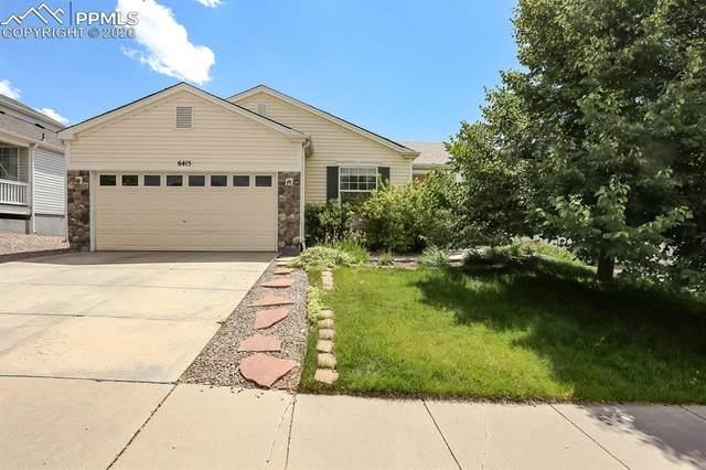 6415 Binder Drive, Colorado Springs, CO 80923 (#7588211) :: The Kibler Group