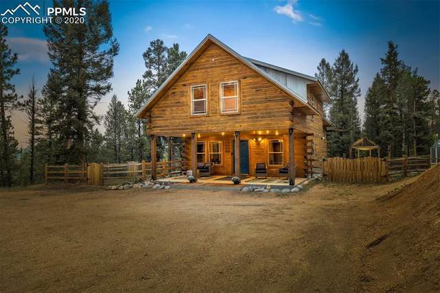 1245 Blossom Road, Woodland Park, CO 80863 (#7603237) :: Tommy Daly Home Team