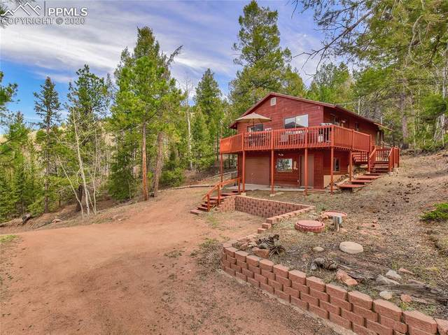 954 Troy Drive, Cripple Creek, CO 80813 (#7607343) :: Tommy Daly Home Team