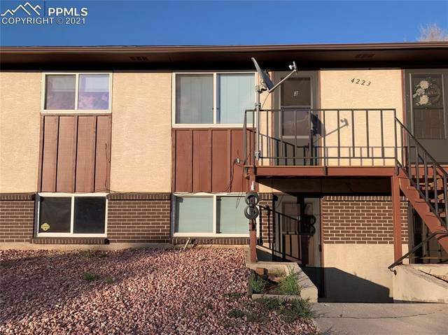 4223 Forrest Hill Road #1, Colorado Springs, CO 80907 (#7609310) :: The Kibler Group