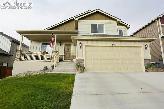 7431 Willowdale Drive, Fountain, CO 80817 (#7630490) :: Tommy Daly Home Team