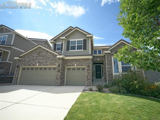 837 Altamont Ridge Drive, Colorado Springs, CO 80921 (#7644222) :: CENTURY 21 Curbow Realty