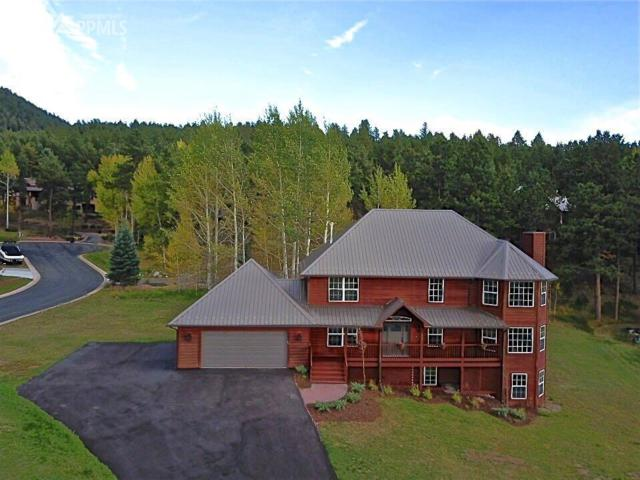 751 Majestic Parkway, Woodland Park, CO 80863 (#7647621) :: The Treasure Davis Team