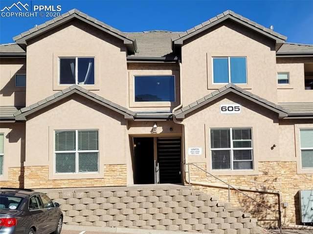 605 Cougar Bluff Point #202, Colorado Springs, CO 80906 (#7648395) :: Venterra Real Estate LLC