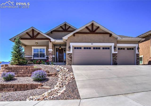 93 Coyote Willow Drive, Colorado Springs, CO 80921 (#7654376) :: The Peak Properties Group