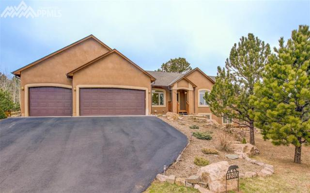 1280 Woodland Valley Ranch Drive, Woodland Park, CO 80863 (#7660612) :: The Dunfee Group - Keller Williams Partners Realty