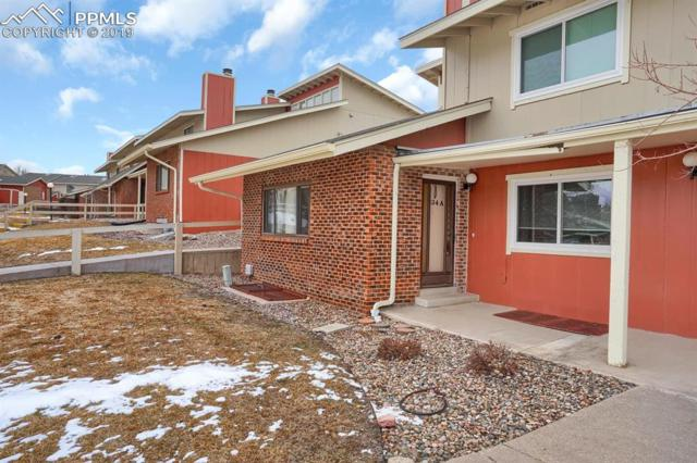 234 W Rockrimmon Boulevard A, Colorado Springs, CO 80919 (#7681604) :: The Treasure Davis Team