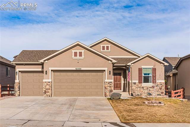 12468 Mount Bross Place, Peyton, CO 80831 (#7691833) :: Finch & Gable Real Estate Co.