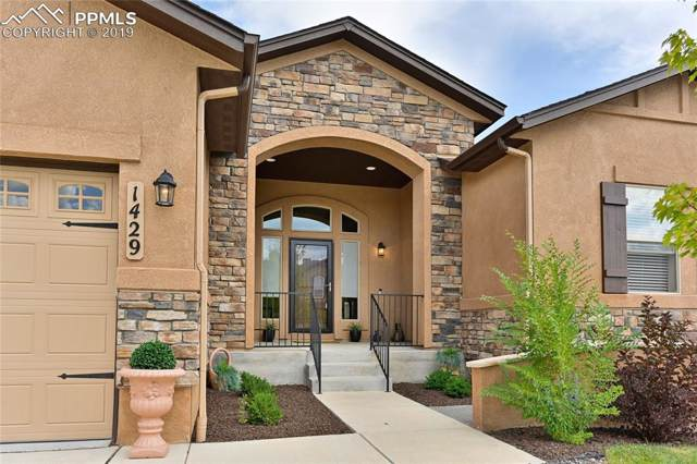 1429 Yellow Tail Drive, Colorado Springs, CO 80921 (#7698706) :: CC Signature Group