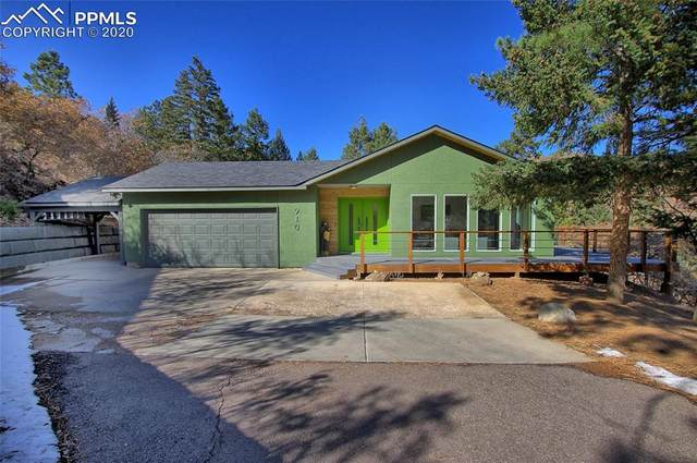 910 Crystal Park Road, Manitou Springs, CO 80829 (#7705156) :: The Daniels Team
