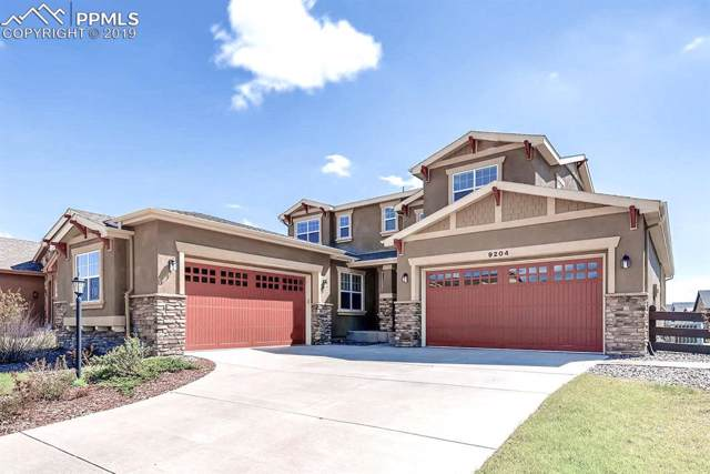 9204 Dome Rock Place, Colorado Springs, CO 80924 (#7730937) :: The Hunstiger Team