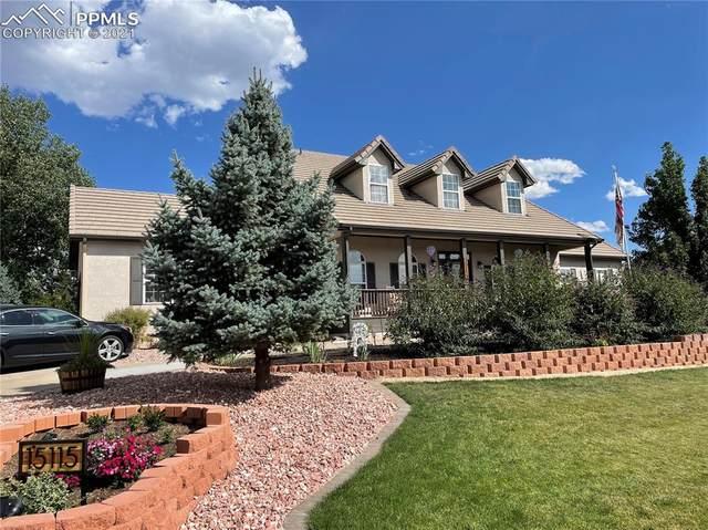 15115 Jessie Drive, Colorado Springs, CO 80921 (#7762852) :: The Treasure Davis Team   eXp Realty