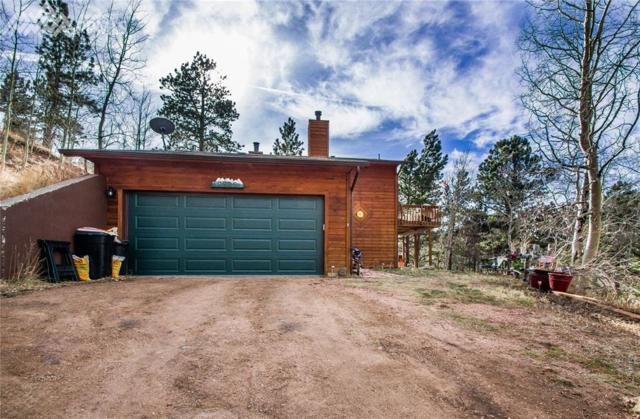 9525 Canyon Drive, Woodland Park, CO 80863 (#7771421) :: The Treasure Davis Team