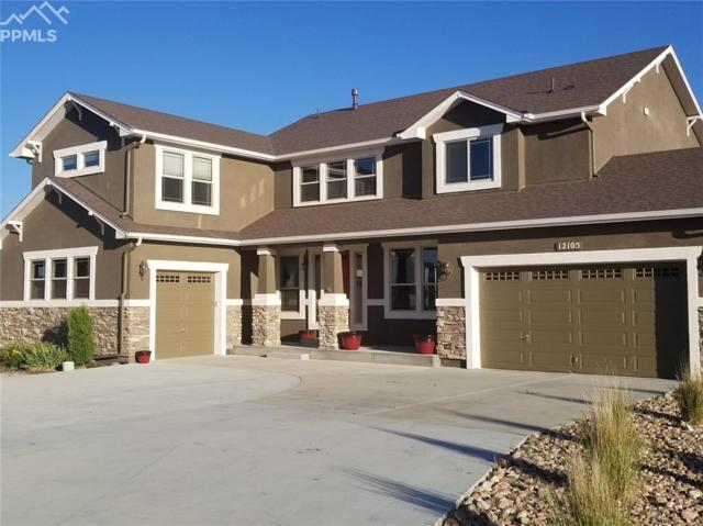12105 Antlers Ridge Drive, Peyton, CO 80831 (#7775226) :: The Peak Properties Group