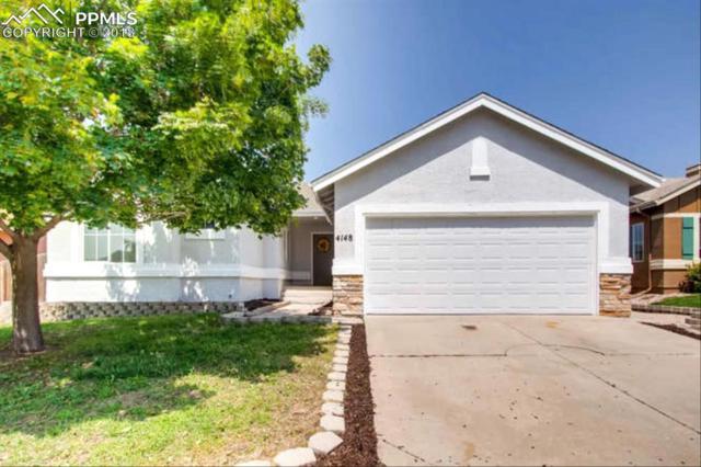 4148 Coolwater Drive, Colorado Springs, CO 80916 (#7799246) :: Jason Daniels & Associates at RE/MAX Millennium
