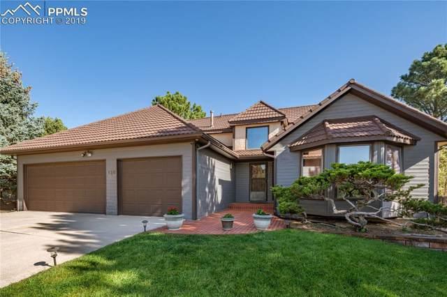 120 Arequa Ridge Drive, Colorado Springs, CO 80919 (#7820385) :: The Peak Properties Group