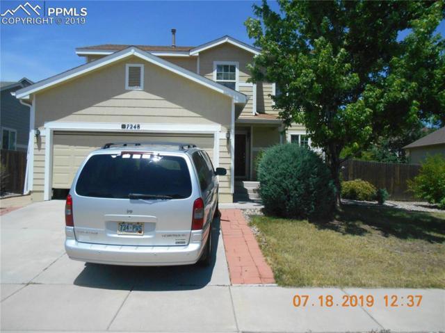 7248 Eagle Canyon Drive, Colorado Springs, CO 80922 (#7828509) :: The Hunstiger Team