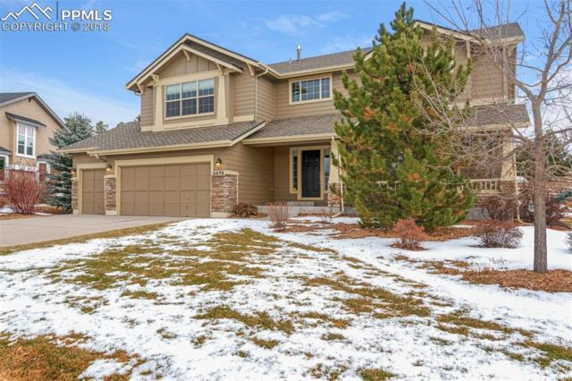 2376 Rusty Ridge Court, Colorado Springs, CO 80921 (#7842784) :: The Hunstiger Team
