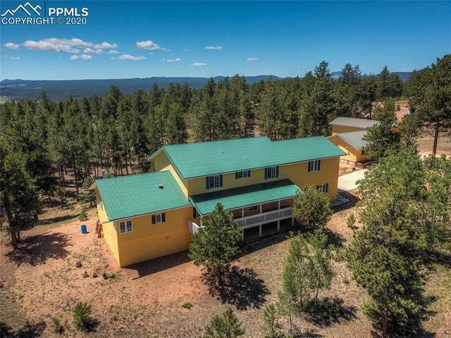 40 Monarch Trail, Florissant, CO 80816 (#7882829) :: Action Team Realty