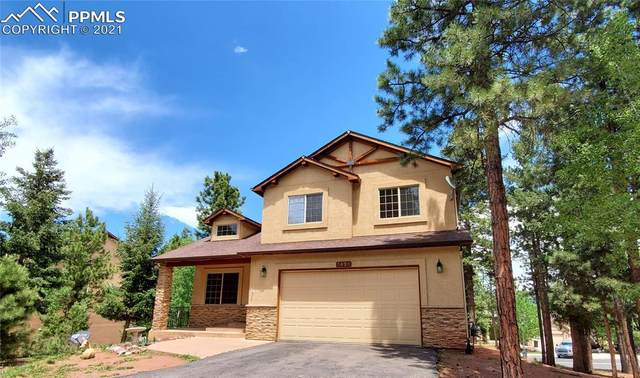 1425 Evergreen Heights Drive, Woodland Park, CO 80863 (#7897242) :: HomeSmart