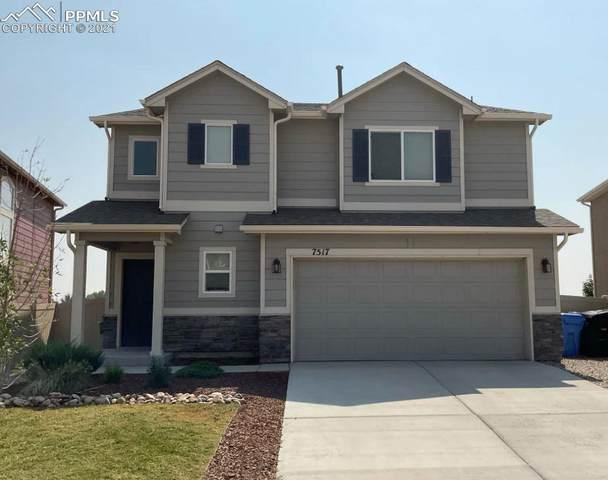 7517 Benecia Drive, Fountain, CO 80817 (#7914897) :: Venterra Real Estate LLC