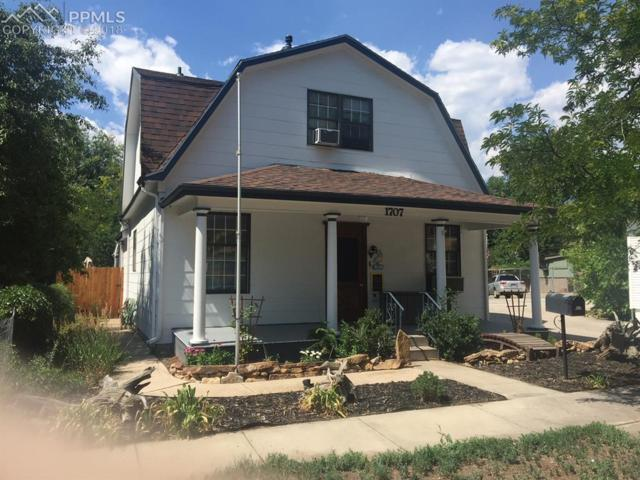 1707 W Vermijo Avenue, Colorado Springs, CO 80904 (#7938165) :: The Hunstiger Team