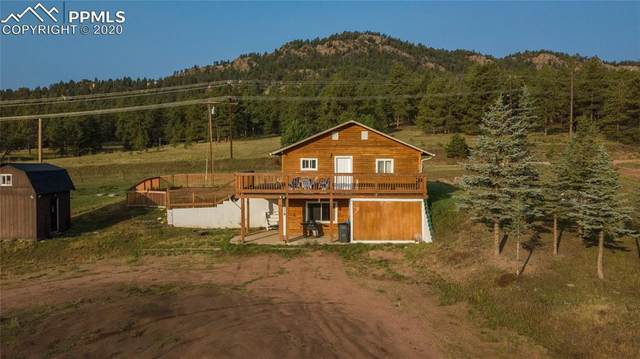 48 Saltlick Circle, Florissant, CO 80816 (#7949627) :: The Treasure Davis Team