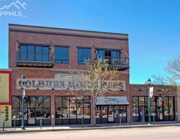 117 E Bijou Street #204, Colorado Springs, CO 80903 (#7992266) :: The Hunstiger Team