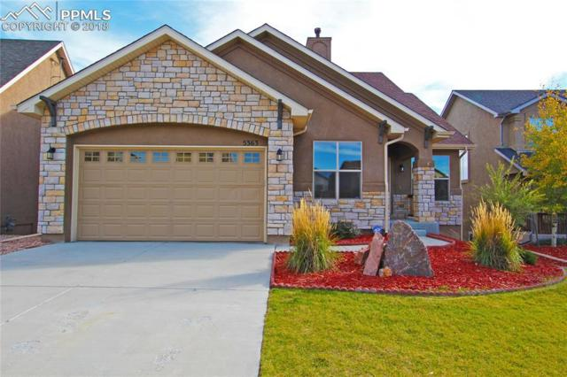 5363 Fossil Butte Drive, Colorado Springs, CO 80923 (#8021169) :: Jason Daniels & Associates at RE/MAX Millennium