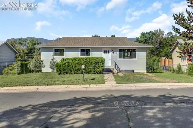 926 Hutchinson Drive, Colorado Springs, CO 80910 (#8034227) :: Compass Colorado Realty