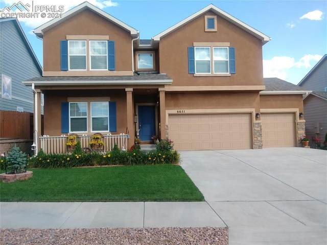 6651 Edmondstown Drive, Colorado Springs, CO 80923 (#8053863) :: The Dixon Group