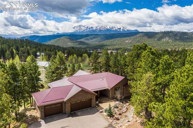 791 Skyline Drive, Woodland Park, CO 80863 (#8054503) :: Finch & Gable Real Estate Co.