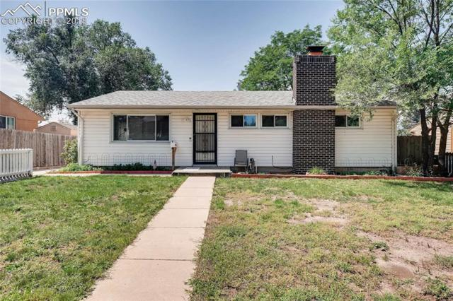 2828 N Circle Drive, Colorado Springs, CO 80909 (#8062425) :: Jason Daniels & Associates at RE/MAX Millennium