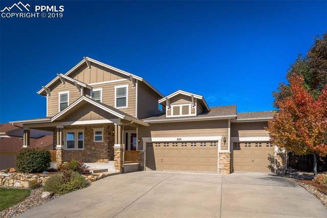850 Coyote Willow Drive, Colorado Springs, CO 80921 (#8064339) :: 8z Real Estate