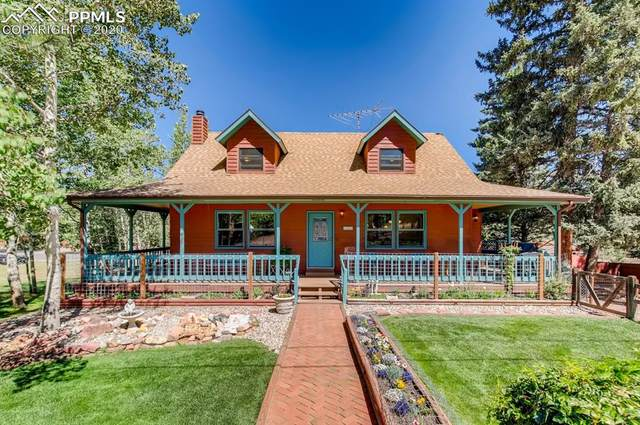 200 Pine Ridge Avenue, Woodland Park, CO 80863 (#8070248) :: Tommy Daly Home Team