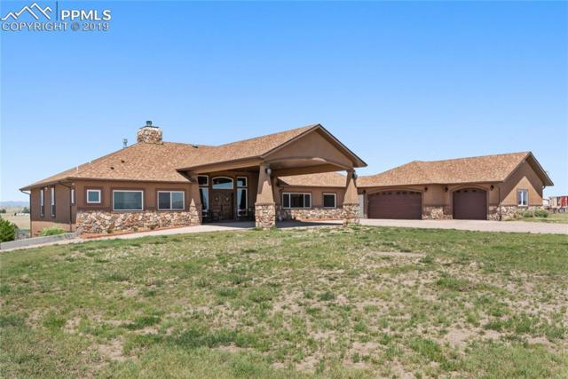 5930 N Log Road, Calhan, CO 80808 (#8100783) :: Action Team Realty