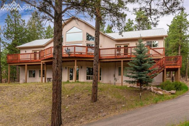1040 Wintergreen Court, Woodland Park, CO 80863 (#8105404) :: The Peak Properties Group