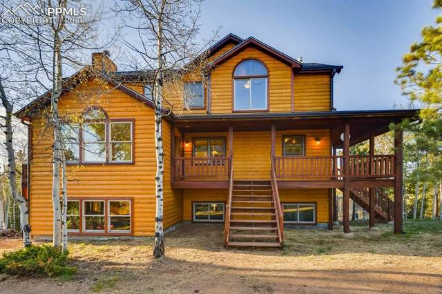 507 Spruce Lake Drive, Divide, CO 80814 (#8112956) :: Finch & Gable Real Estate Co.