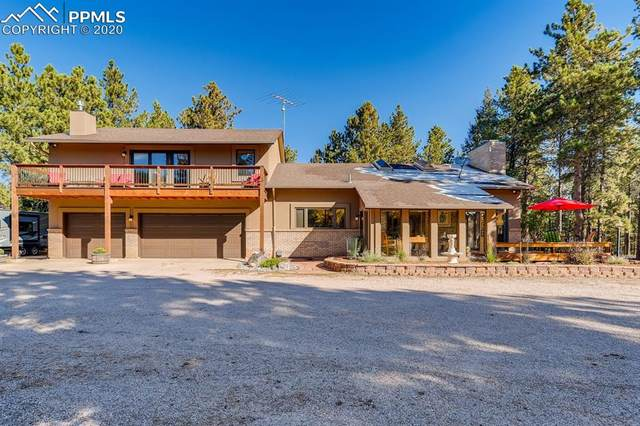 1250 Woodland Valley Ranch Drive, Woodland Park, CO 80863 (#8116099) :: Colorado Home Finder Realty