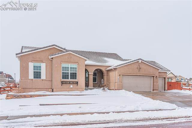 10840 Klondike Drive, Peyton, CO 80831 (#8134084) :: Tommy Daly Home Team