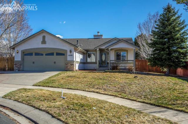 4190 Coolwater Drive, Colorado Springs, CO 80916 (#8142075) :: Jason Daniels & Associates at RE/MAX Millennium