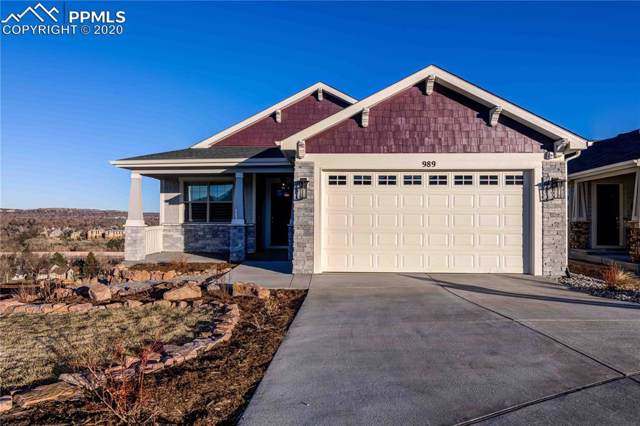 989 Uintah Bluffs Place, Colorado Springs, CO 80904 (#8164827) :: 8z Real Estate