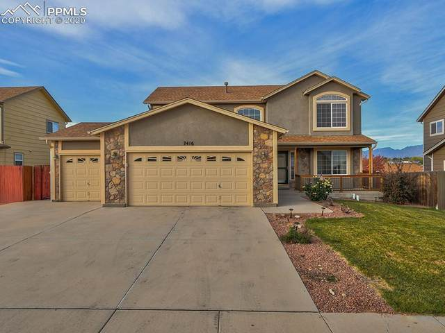 7416 Twin Valley Terrace, Colorado Springs, CO 80925 (#8173526) :: The Treasure Davis Team