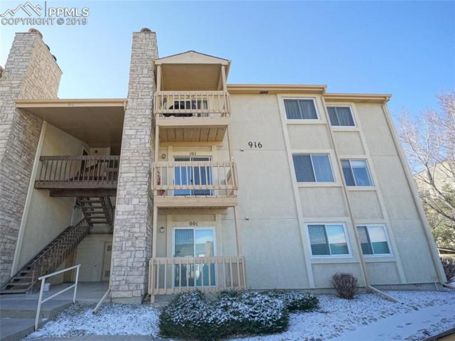 916 Tenderfoot Hill Road #101, Colorado Springs, CO 80906 (#8199035) :: 8z Real Estate
