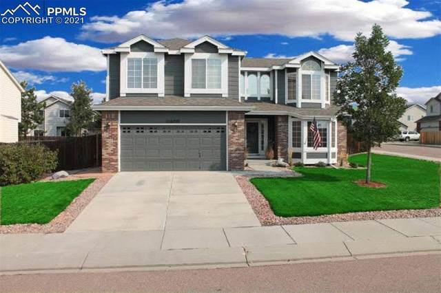16709 Elk Valley Trail, Monument, CO 80132 (#8201293) :: The Dixon Group