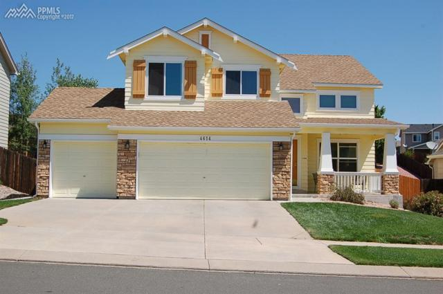 4614 Crow Creek Drive, Colorado Springs, CO 80922 (#8205803) :: The Hunstiger Team