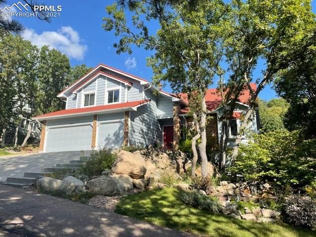 280 Brandywine Drive, Colorado Springs, CO 80906 (#8206687) :: The Kibler Group