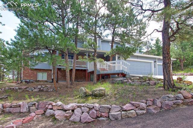 435 Popes Valley Drive, Colorado Springs, CO 80919 (#8209711) :: Tommy Daly Home Team