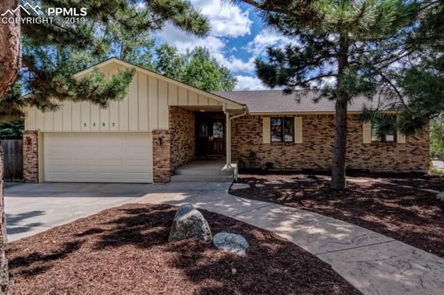 5505 Saddle Rock Place, Colorado Springs, CO 80918 (#8211913) :: The Kibler Group