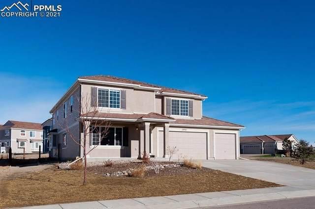 10932 Cascading Spring Circle, Peyton, CO 80831 (#8218156) :: Finch & Gable Real Estate Co.